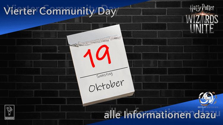 Alle Infos zum 4. Community Day am 19. Oktober 2019 7