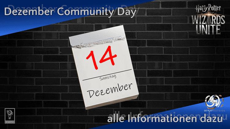 Alle Infos zum Community Day am 14. Dezember 2019 10