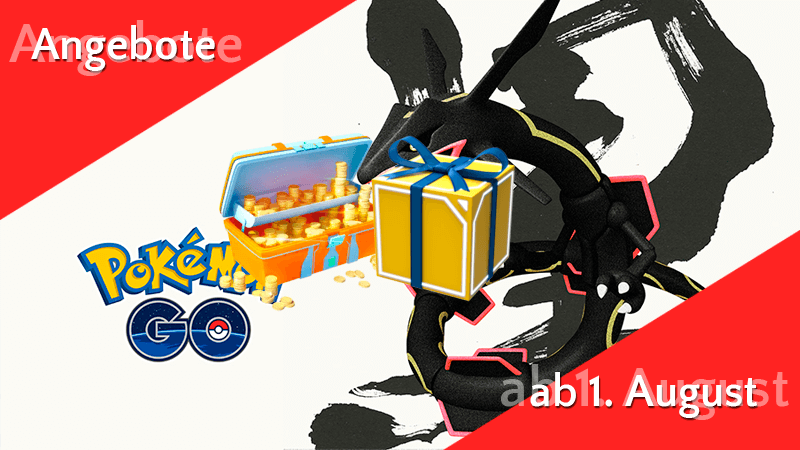 Angebote im Pokémon GO Shop ab 1. August 9