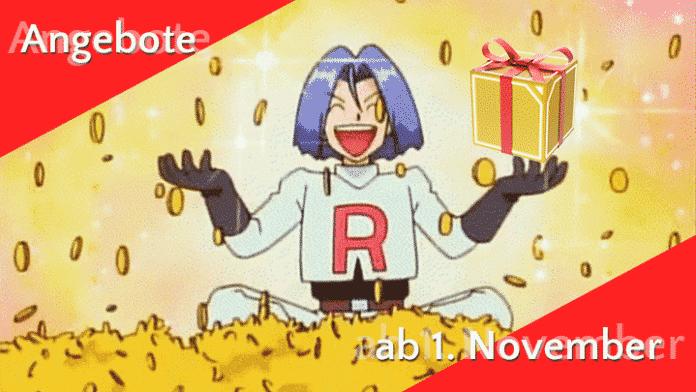 Angebote im Pokémon GO Shop ab 1. November 5