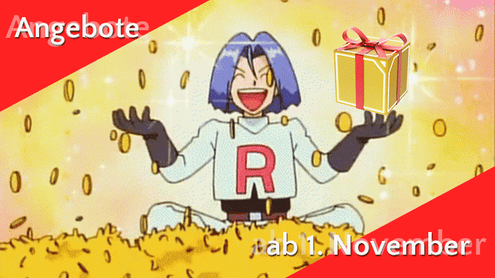 Angebote im Pokémon GO Shop ab 1. November 32