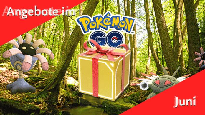 Angebote im Pokémon GO Shop im Juni 5
