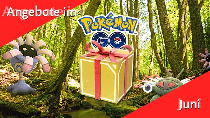 Angebote im Pokémon GO Shop im Juni 9