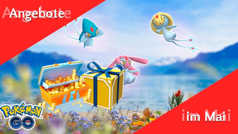 Angebote im Pokémon GO Shop im Mai 9