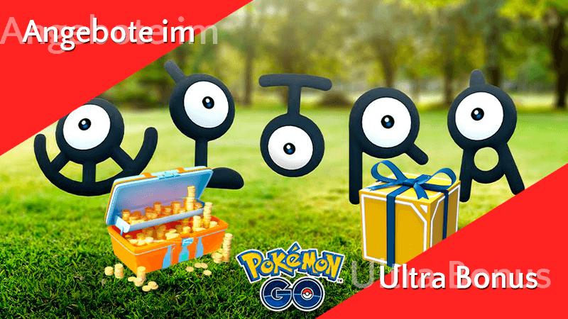 Angebote im Pokémon GO Shop im Ultra Bonus 8