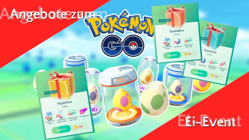 Angebote im Pokémon GO Shop zum Ei-Marathon 11