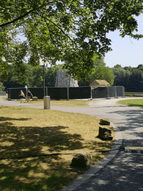 Aufbau der Habitate in Dortmund hat begonnen! 4
