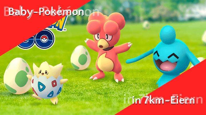 Baby-Pokémon aus Alola-Eiern und Shiny Knospi 10