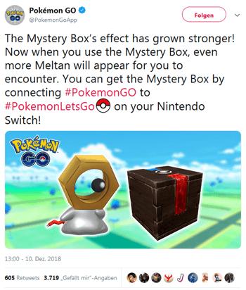 Bis zu 20 Meltan aus einer Box ! Geänderte Eier und neue Grafiken im Spiel gefunden 1