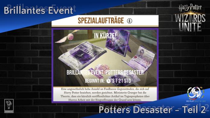 Brillantes Event: Potters Desaster - Teil 2 2