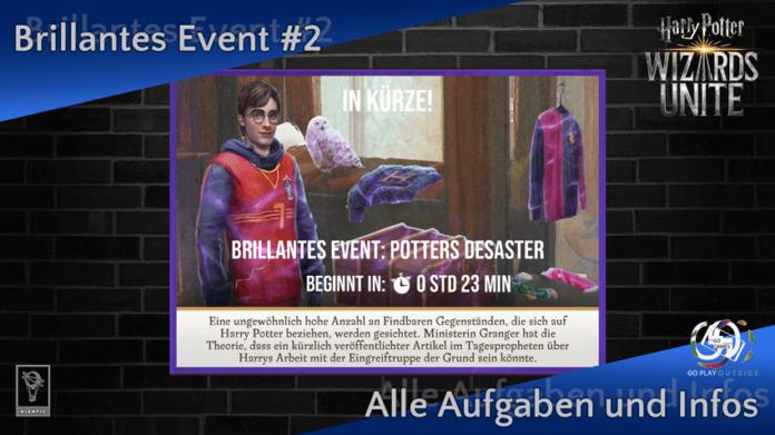 Brillantes Event: Potters Desaster - Wie man das meiste raus holen kann 1