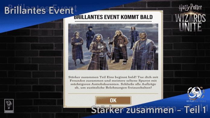 Brillantes Event: Stärker zusammen - Teil 1 1