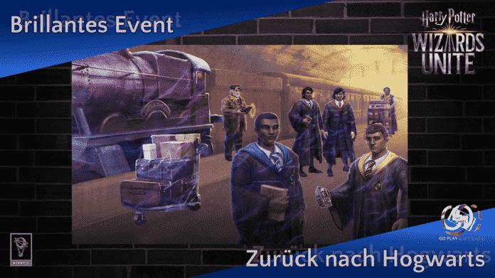 Brillantes Event: Zurück nach Hogwarts 1