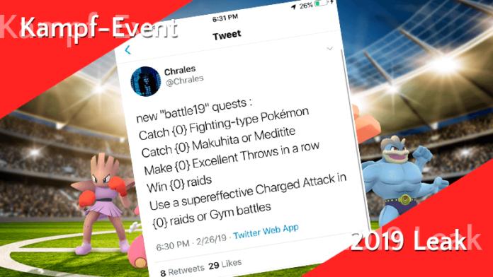 Chrales entdeckt neues Kampf-Event 1