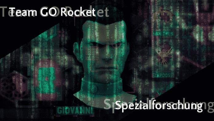Team GO Rocket Spezialforschung Januar 2