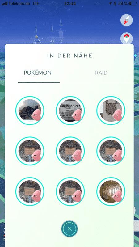 Das Valentinstagsevent 2018 in Pokémon GO 3