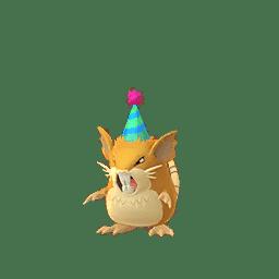 Neujahrsevent Leak - Shiny Waumpel mit Partyhut 4