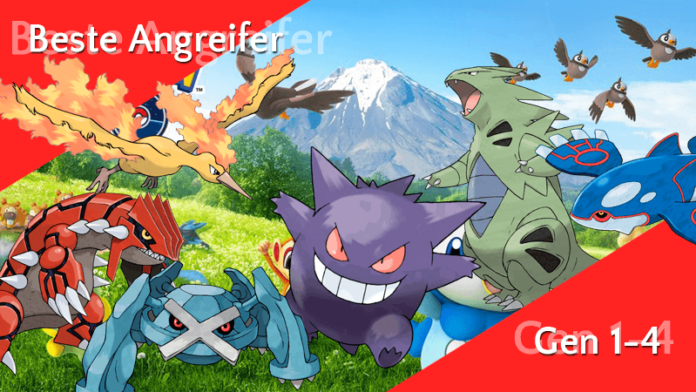 Die stärksten Angreifer inkl. Sinnoh-Pokémon 20