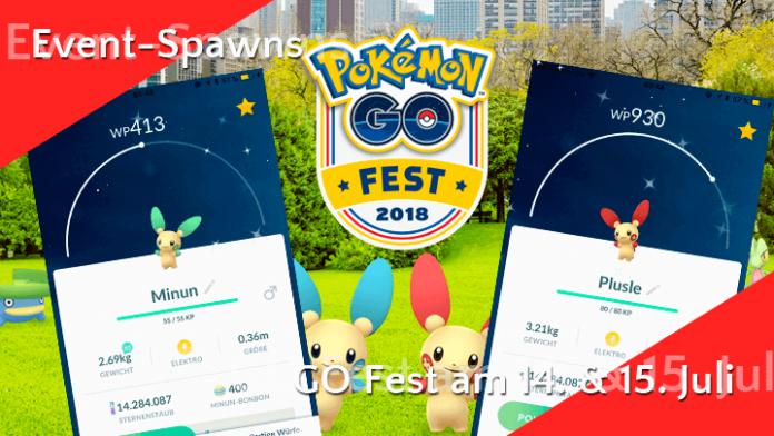 Dies sind die Event-Pokémon am GO-Fest-Wochenende 15