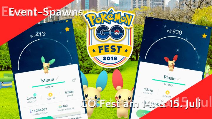 Dies sind die Event-Pokémon am GO-Fest-Wochenende 11