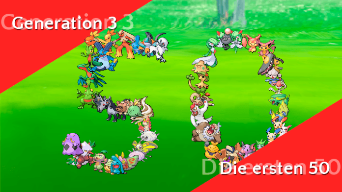 Diese 50 Pokémon sind neu im Spiel 53