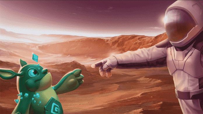 Draconius GO möchte erstes AR-Spiel auf dem Mars werden 1