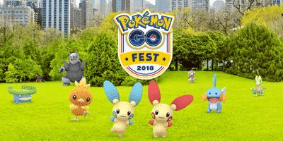 Erinnerung: Am 14. und 15. Juli ist Pokémon Go Fest 13