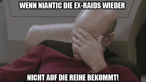 Erneute Schwierigkeiten bei EX-Raids 1