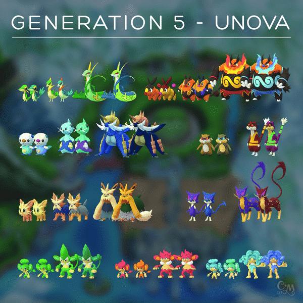 Erste Bilder der Einall-Pokémon im Spiel entdeckt! 1