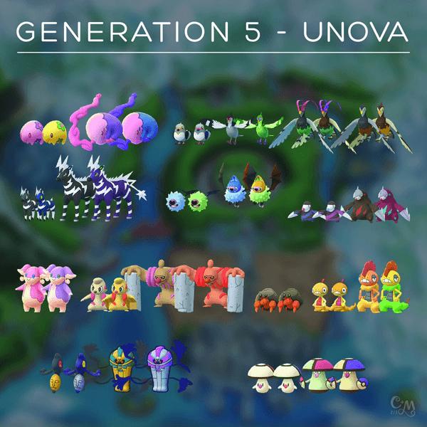 Erste Bilder der Einall-Pokémon im Spiel entdeckt! 2