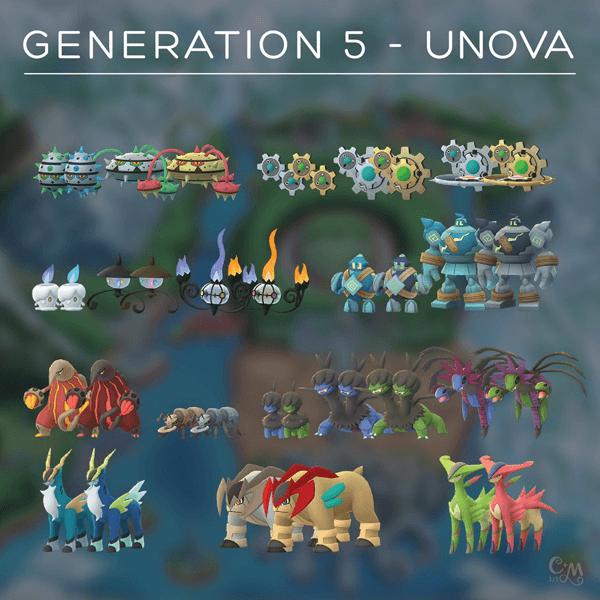 Erste Bilder der Einall-Pokémon im Spiel entdeckt! 3