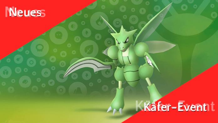 Erstes Käfer-Event in Pokémon GO 2