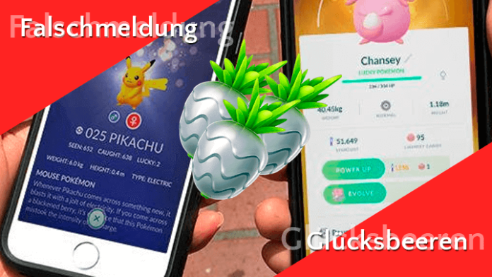 Falschmeldung: Celebi, Lucky Pokémon und Glücksbeere 2