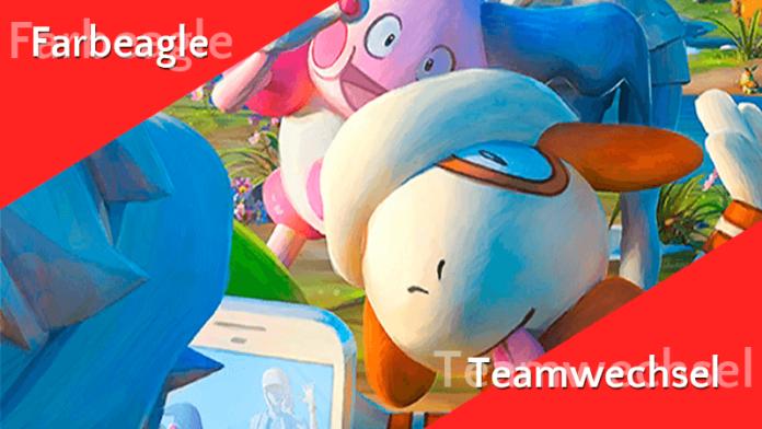 Farbeagle und der Teamwechsel 3