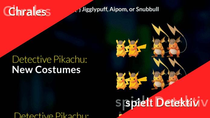 Feldforschungen zu Meisterdetektiv Pikachu 1