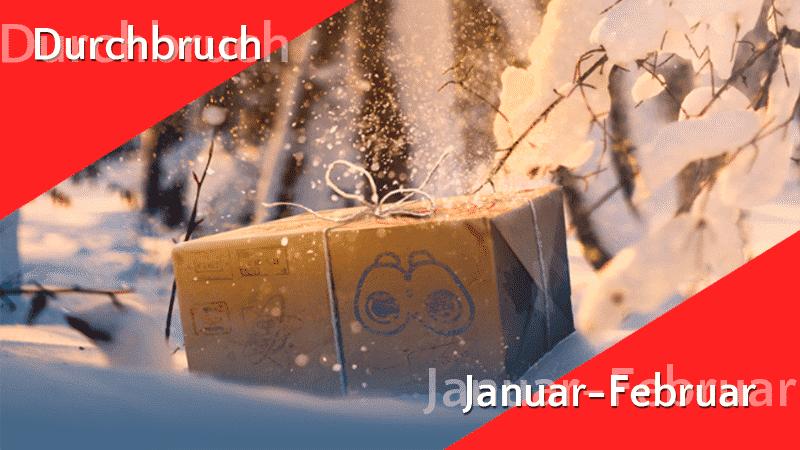 Forschungsdurchbruch bis Februar fast identisch! 10