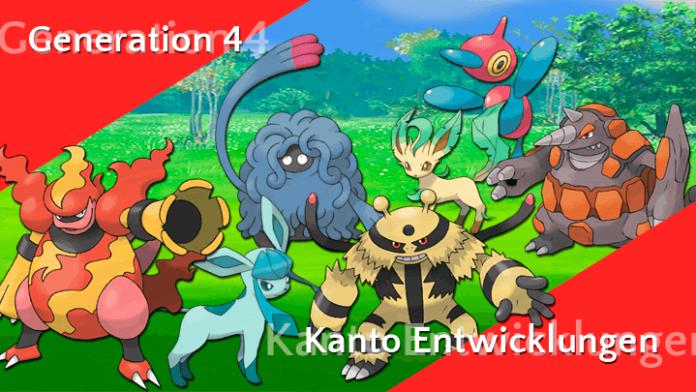Generation 4 Entwicklungen - Kanto 20