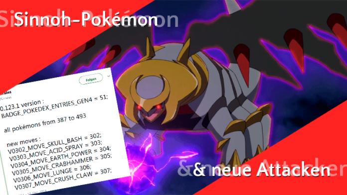Generation 4 komplett und neue Attacken im Code gefunden! 2