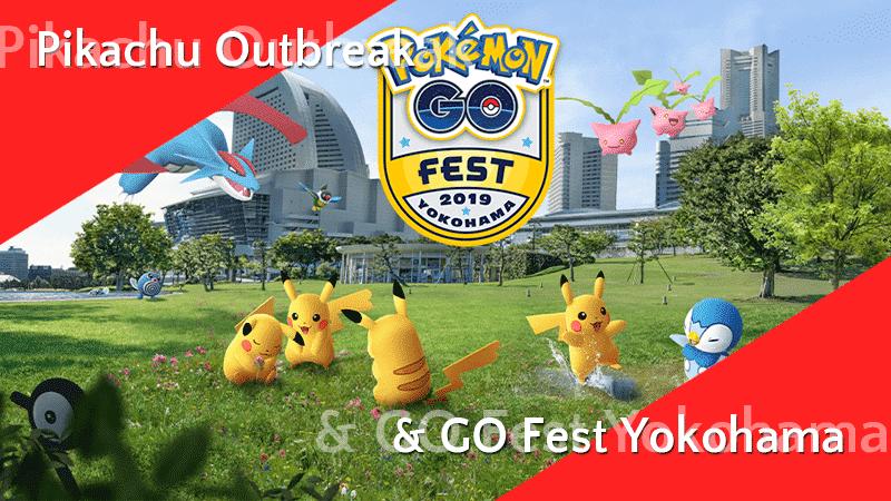 GO Fest Yokohama Event - weltweite Pokémon 14