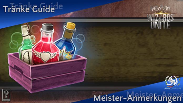 [GUIDE] So bereitet Ihr eure Zaubertränke noch schneller zu 19