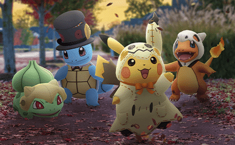 Halloween Event 2019 in Pokémon GO! 16