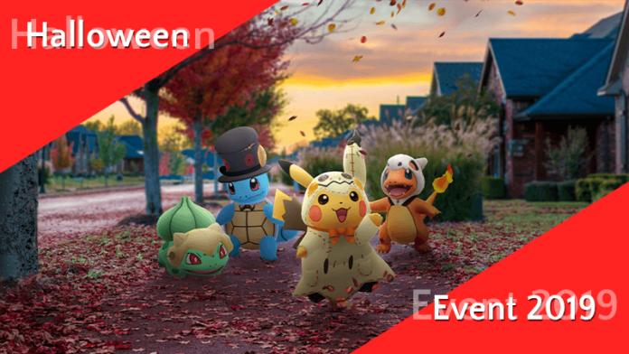Halloween Event 2019 in Pokémon GO! 5