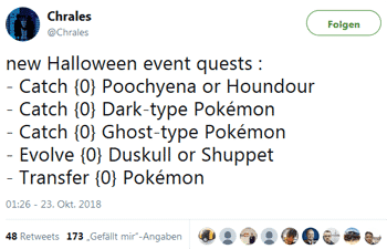 Halloween Event Leak durch Chrales 10