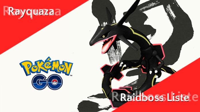 Liste der Raidbosse ab 1. August 2019 - Rayquaza 22