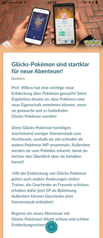 Lucky Pokémon sind noch nicht live in Pokémon GO! 11