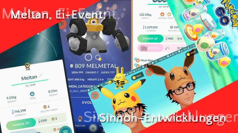 Meltan, Ei-Event, Shiny Elekid & Sinnoh-Entwicklungen 8