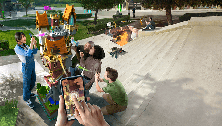Microsoft kündigt eigenes Augmented Reality Game an: Minecraft Earth 9
