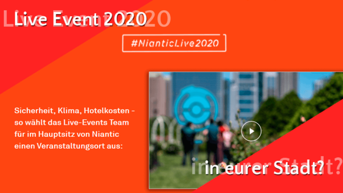 Mit #NianticLive2020 holt ihr Events in eure Stadt! 1