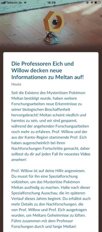 Neue Informationen zu Meltan, Spezialforschungen und Let's GO Pikachu 10