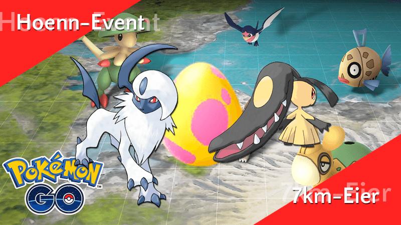 Neue Pokémon aus 7km-Eiern im Hoenn-Event! 10